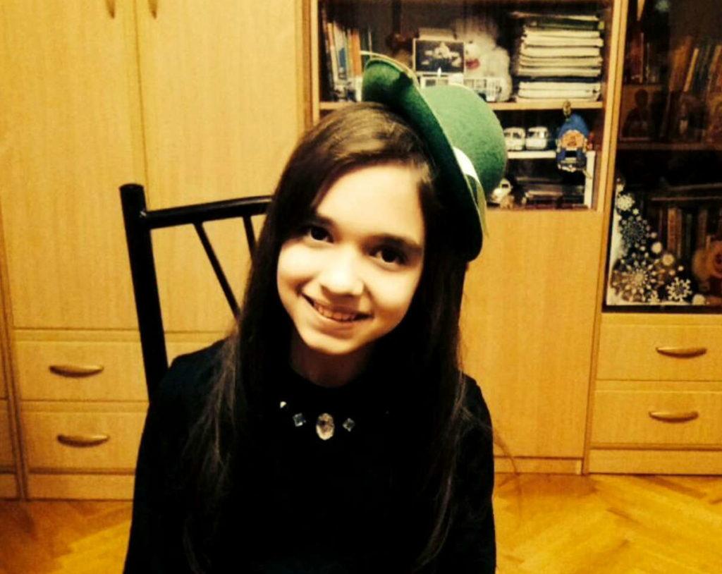 Балоян Нора, 13 лет