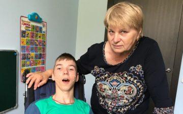 Тимофей Смирнов на долгожданной реабилитации