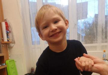 Самусев Егор, 3 года