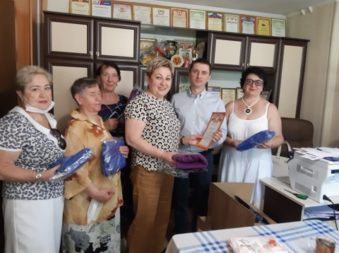 Поддержка в период пандемии обществу инвалидов Ленинского района
