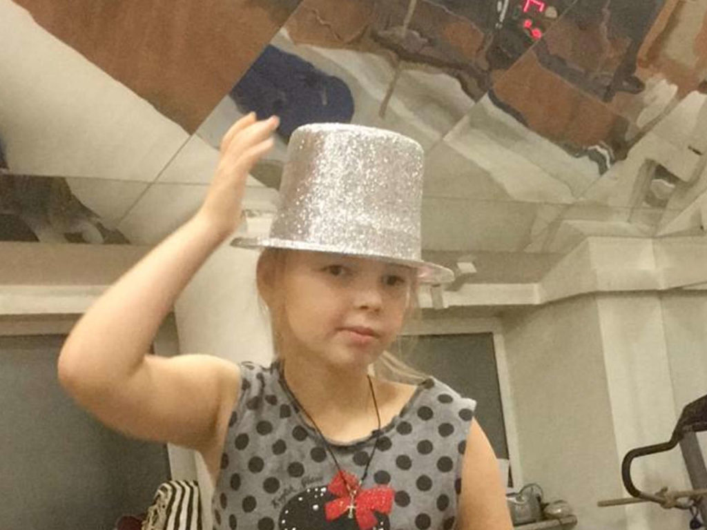 Солдатская Виктория, 9 лет
