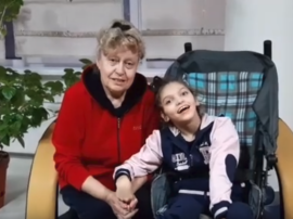 Благодарность семьи Солодковых Софии